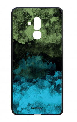 Cover Bicomponente Huawei Mate 20 Lite - Mineral BlackLime