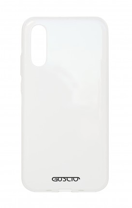Case Crystal TPU Sam A70 - Logo