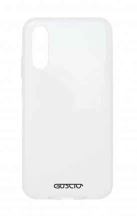 Cover Crystal Samsung A70 Trasparente - Logo