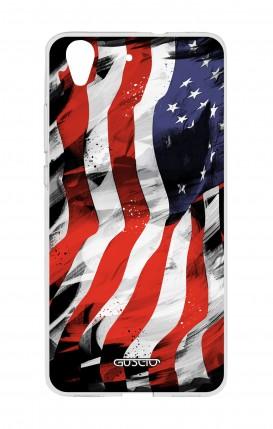 Cover Huawei Y6II - Bandiera americana