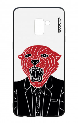 Samsung J6 PLUS 2018 WHT Two-Component Cover - Elegant panther