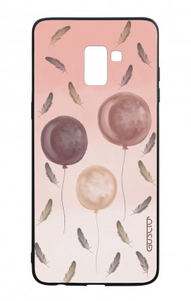 Samsung A8 2018 WHT Two-Component Cover - Light as feathers