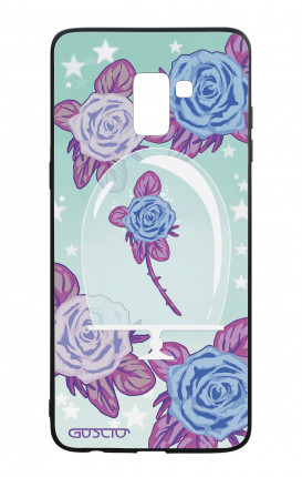 Samsung A8 2018 WHT Two-Component Cover - Enchanting Rose