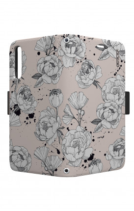 Cover STAND VStyle EARS Samsung A10 - Peonie
