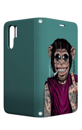 Cover STAND Huawei P30 PRO - Scimmia felice