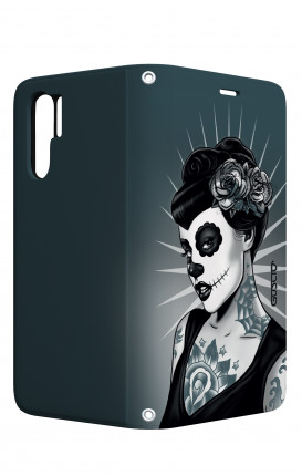 Case STAND Huawei P30 PRO - Calavera Grey Shades