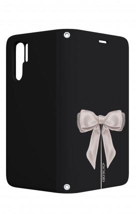 Case STAND Huawei P30 PRO - Satin White Ribbon