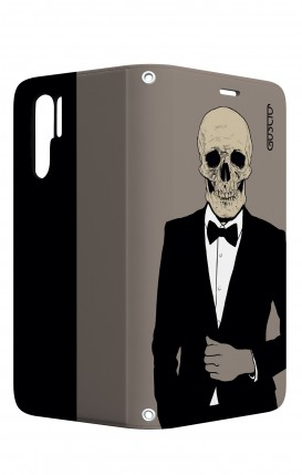 Case STAND Huawei P30 PRO - Tuxedo Skull