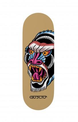 Phone grip - Ape Tattoo on ochre