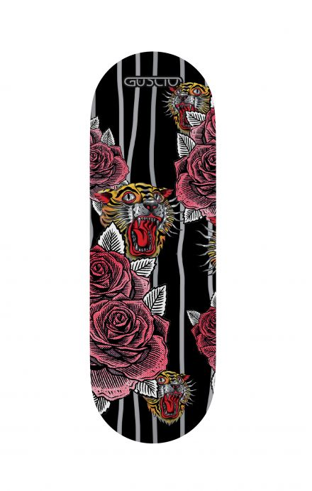 Phone grip - Roses and Tigers Tattoo