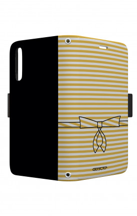 Cover STAND VStyle EARS Samsung A10 - Yellow Break