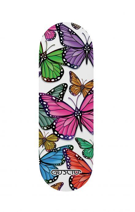 Phone grip - Vivid butterflies Pattern