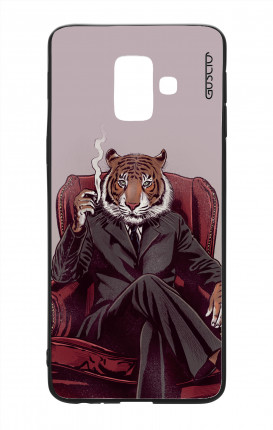 Samsung A6 Plus WHT Two-Component Cover - Elegant Tiger