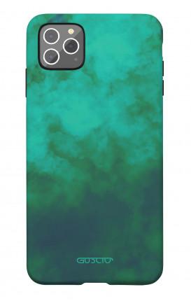 Soft Touch Case Apple iPhone 11 PRO - Emerald Cloud