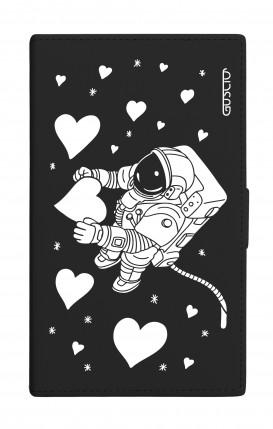 "UNV BOOK 4.7-5.1"" PU LTH BLACK TG M (Tall) - BLK Love in the Space"