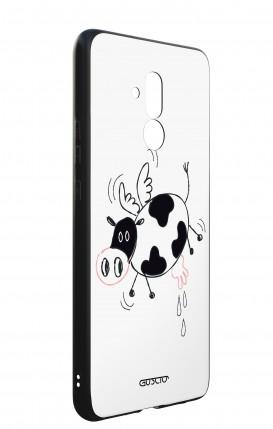 Cover Huawei P30 Lite - Coppia di gufi
