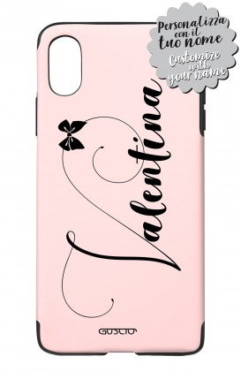 Cover Skin Feeling Apple iphone X/XS BLK - Pois - Gusciostore