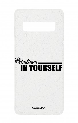 Case GLITTER SOFT Samsung S10e - Believe in Yourself