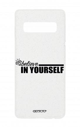 Cover Glitter Soft Samsung S10e - credi in te stesso