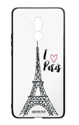 Huawei Mate20Lite WHT Two-Component Cover - I love Paris