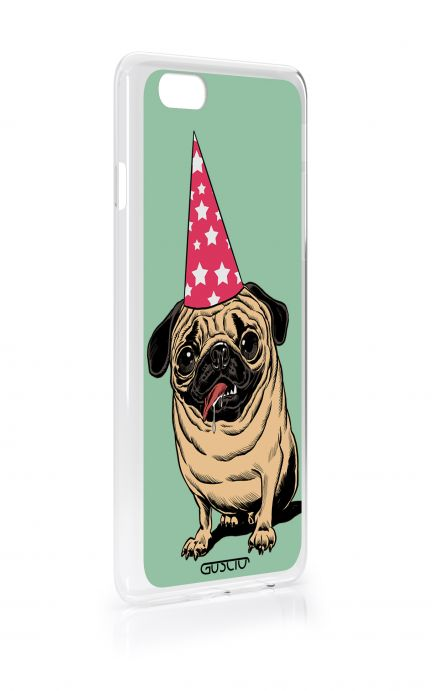 Cover Apple iPhone 7/8 Plus TPU - Party with Pug
