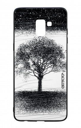 Samsung J6 PLUS 2018 WHT Two-Component Cover - INK Tree
