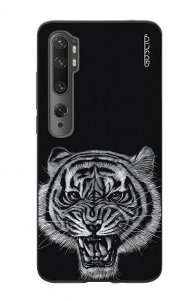 Cover Bicomponente Xiaomi Redmi Note 10 Lite/Mi Note 10 - Tigre nera