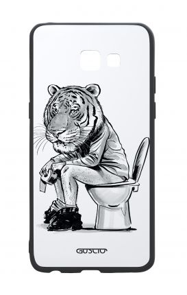 Samsung A5 2017 White Two-Component Cover - Tiger on WC