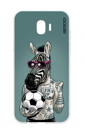Cover TPU Samsung Galaxy J2 2018 - Zebra