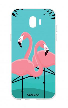 Cover TPU Samsung Galaxy J2 2018 - Fenicotteri