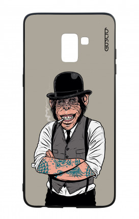 Samsung J6 PLUS 2018 WHT Two-Component Cover - Derby Monkey