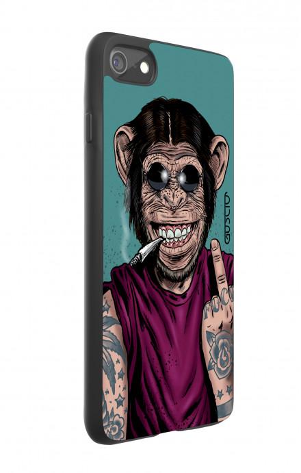 Cover Bicomponente Apple iPhone 7/8 - Scimmia felice
