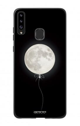 Cover Bicomponente Samsung A20s - Palloncino lunare