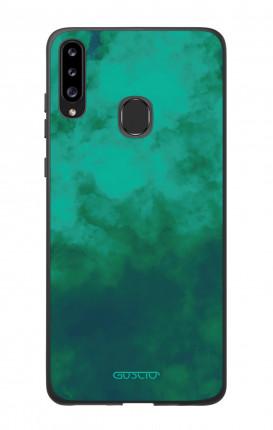 Cover Bicomponente Samsung A20s - Emerald Cloud