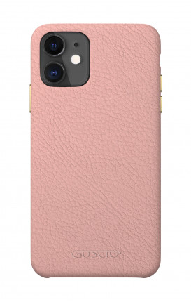 Luxury Leather Case Apple iPhone 11 PASTEL PINK - Neutro