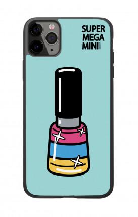 Cover Bicomponente Apple iPhone 6 Plus - Scritte e Cuori rosa nero
