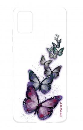 Cover TPU Samsung Galaxy A21s - Volo di farfalle