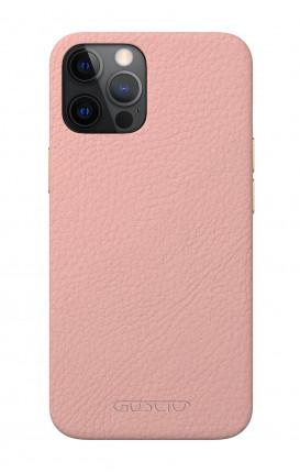 Luxury Leather Case Apple iPhone 12 MINI PASTEL PINK - Neutro