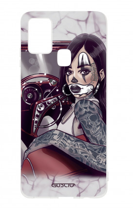 Cover TPU Samsung Galaxy A21s - Pin Up Chicana in auto