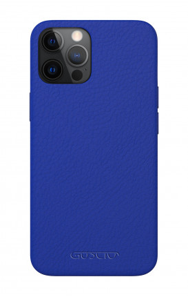 Luxury Leather Case Apple iPhone 12 MINI COBALT - Neutro