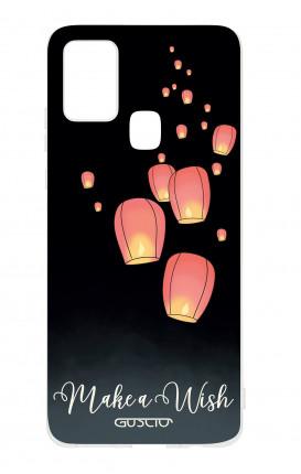 Cover TPU Samsung Galaxy A21s - Lanterne dei desideri