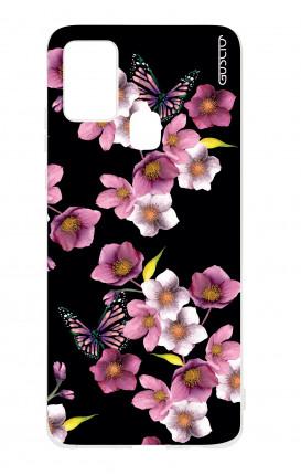 Cover TPU Samsung Galaxy A21s - Fiori di ciliegio