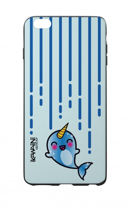 Apple iPhone 6 WHT Two-Component Cover - Narwhal Kawaii