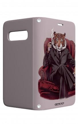 Case STAND VStyle Samsung S10 - Elegant Tiger