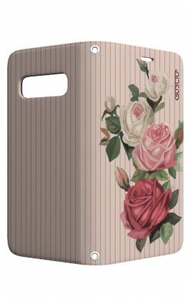 Case STAND VStyle Samsung S10 - Roses and stripes