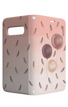 Cover STAND Samsung S10 - 3 Palloncini rosa