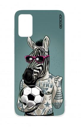 Cover TPU Samsung Galaxy A41 - Zebra