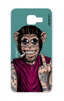 Cover TPU Samsung A5 (2017) - Scimmia felice
