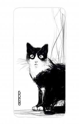 Case Samsung Galaxy J4 PLUS - B&W CAT