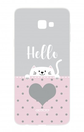 Case Samsung Galaxy J4 PLUS - Hello Cat